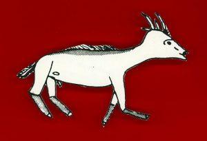 le céphalophe à flancs roux
