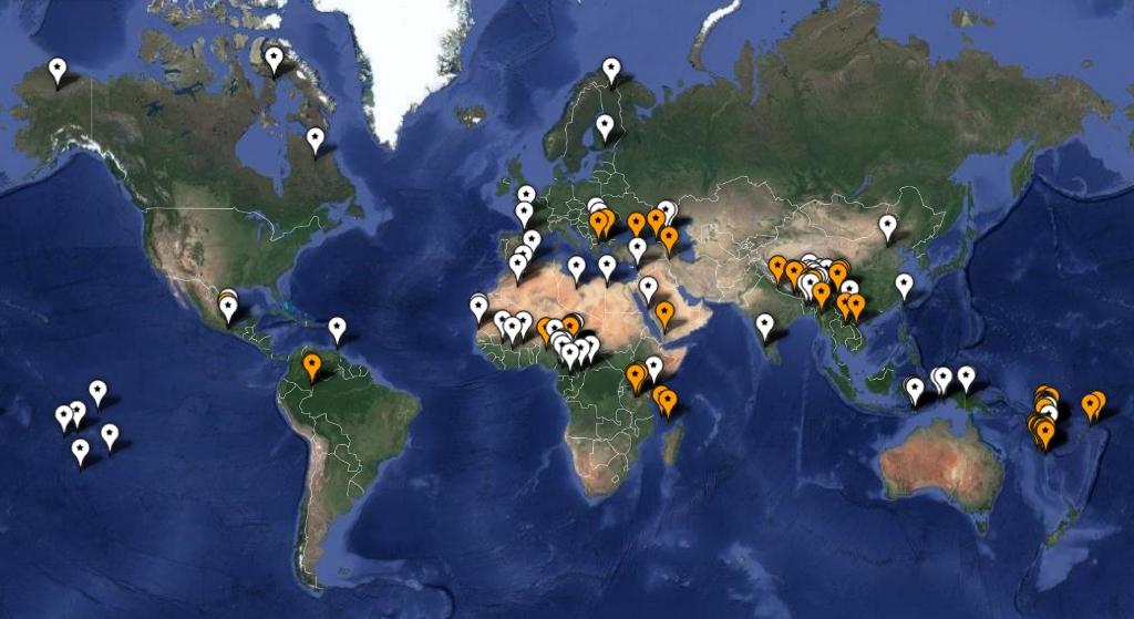 Language-map